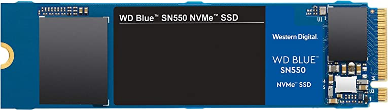 Western Digital 250GB WD Blue SN550 NVMe Internal SSD - Gen3 x4 PCIe 8Gb/s, M.2 2280, 3D NAND, Up to 2,400 MB/s - WDS250G2B0C