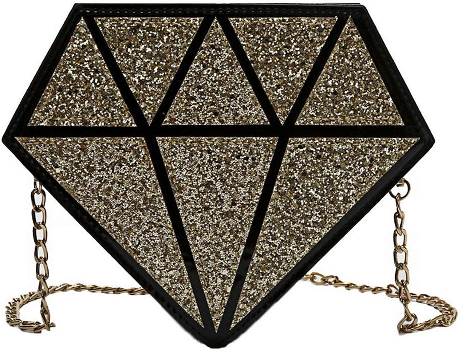 AmoonyFashion Women's Sequin Sequins Casual Bags Crossbody Bags,BUTBS220353