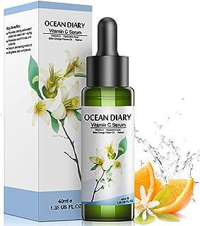 Vitamin C Serum for face with Hyaluronic Acid,Bitter Orange Flower Oil, Retinol 1.35 fl oz