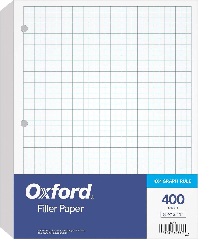 Oxford Filler Paper Omaha Over item handling Mall 8-1 2