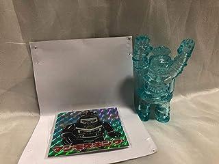 究極スーパーロボット 海賊堂 KAIZOKUDO クリア ブルー clear blue スーフェス 80 SF 緑商会 ブルーザーZ HxS ゴリラ獣 廣田彩玩所 ソフビ