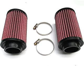 A Pair of Air Pod Filters Pair Stock Carb 26mm KN for Yamaha Banshee YFZ 350 K&N Style Brand New by Amhousejoy