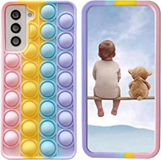 """XYOUNG Case for Samsung Galaxy A32 5G (6.5""""), Push Bubble Sensory Fidget Toy Case Release Stress Protection Cover with Sta..."""