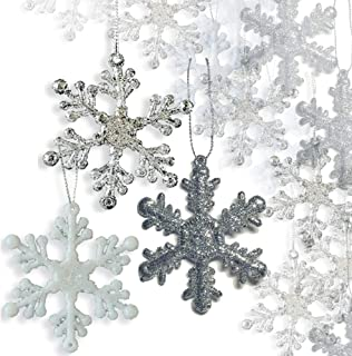 Best white glitter ornaments Reviews