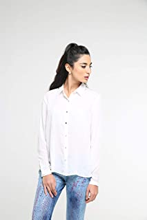TruEagle Classic Open Back Shirt for Women