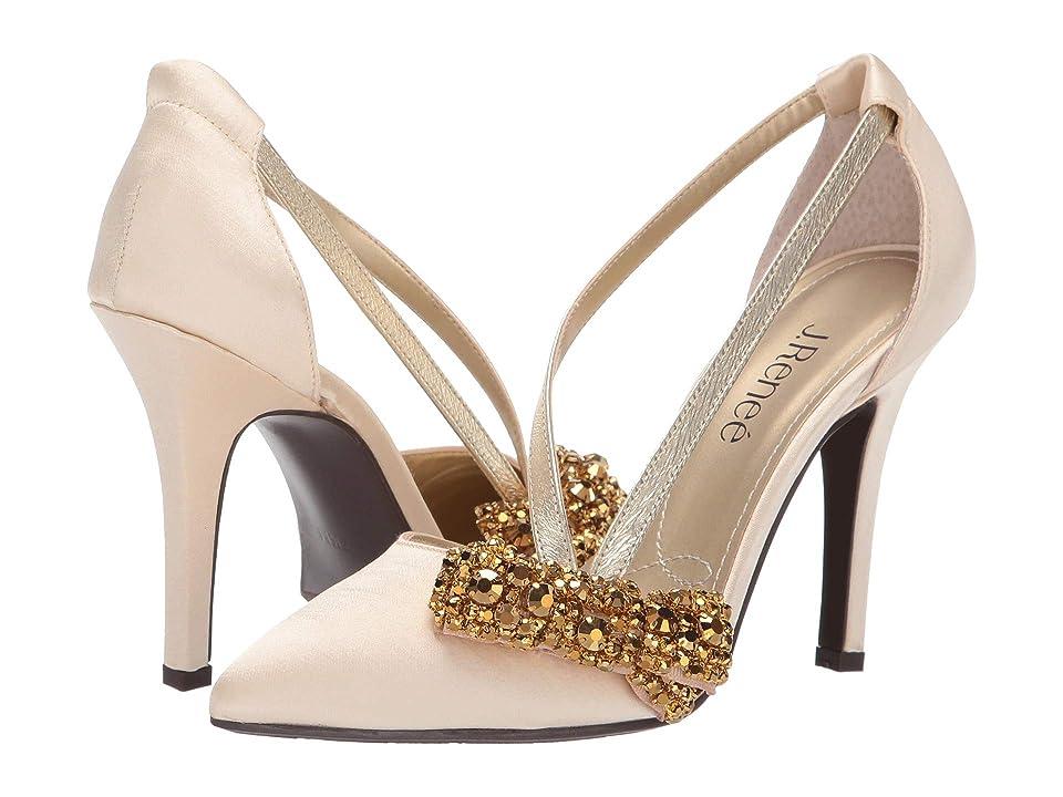 J. Renee Aleaha (Gold Fabric) High Heels