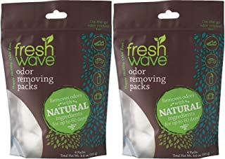 Fresh Wave Odor Removing Packs, 2 Bags of 6 Each