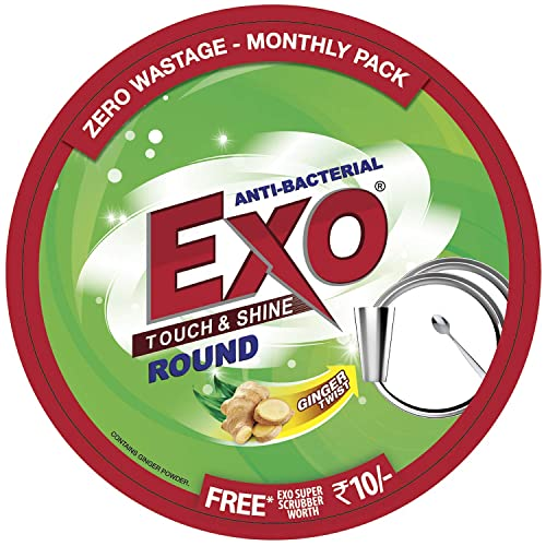 EXO Cyclozan - Round, 500g Box with free scrubber