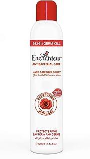 Enchanteur Antibacterial Hand Sanitizer Spray, 300 ml