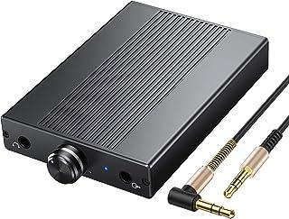 Proster Headphone Amplifier Portable Amp 3.5mm Audio Rechargeble HiFi Earphone USB Amplifier for iPhones iPod MP3 MP4 Digi...
