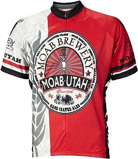 World Jerseys Men's Moab Brewery Hoppy Cycling Jersey