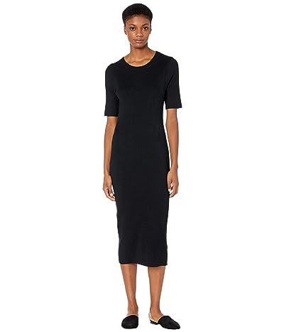 J.Crew Rib Knit Short Sleeve Midi Dress