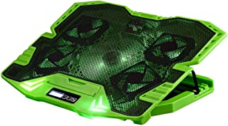 Master Cooler Gamer Verde Com Led Warrior, Suporte de Notebook - AC292