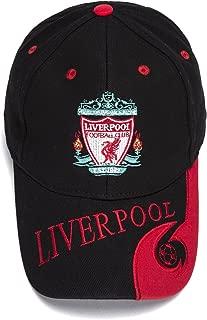 FOOT-ACC Liverpool Team Cap Soccer Cap Hat New Season - Embroidered Authentic Caps Black Baseball Cap