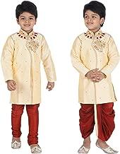 Ahhaaaa Kids Indian Ethnic Bollywood Style Kurta, Pyjama and Dhoti Pant Set for Boys