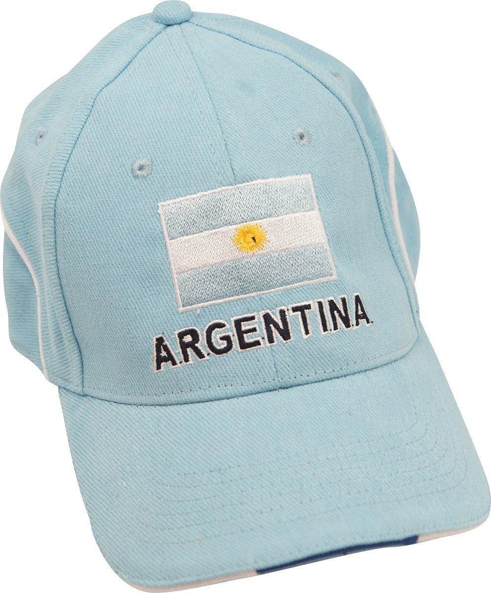 Gorra, diseño de bandera de Argentina: Amazon.es: Deportes y aire ...