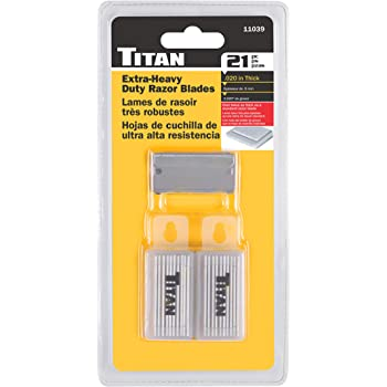 Titan 11039 Heavy Duty Razor Blade - 21 Piece