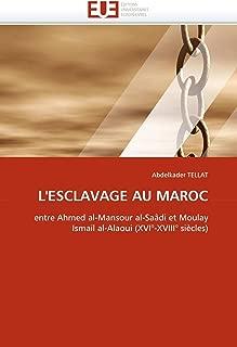 L'ESCLAVAGE AU MAROC: entre Ahmed al-Mansour al-Saâdi et Moulay Ismaïl al-Alaoui (XVI°-XVIII° siècles) (Omn.Univ.Europ.) (French Edition)