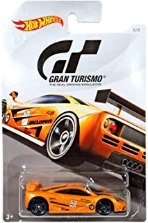 Hot Wheels McLAREN F1 GTR 2018 GRAN TURISMO Series #2 Orange McLAREN F1 GTR 1:64 Scale Collectible Die Cast Metal Toy Car Model #8/8
