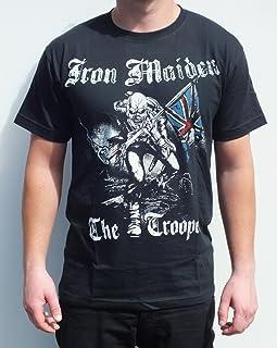 8bd4b68541 RGM852 IRON MAIDEN el soldado del tamaño de la camiseta: grande
