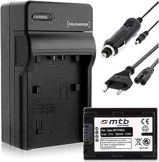 Batería + Cargador (Coche/Corriente) para Sony NP-FH50/FP-50 / DSC-HX1 HX100V HX200V / Alpha. - Ver Lista!