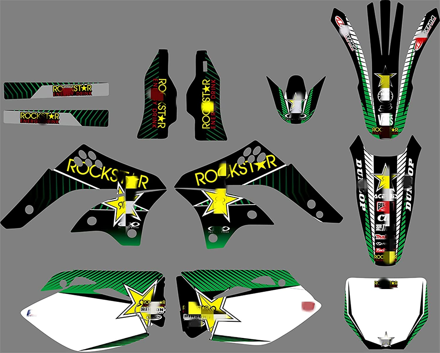Tatumyin Long-awaited PJDST-5 Customized 3M Graphi Decals Stickers Super sale period limited Motorcycle
