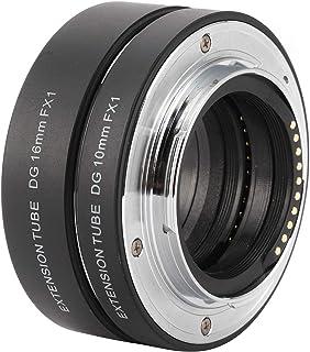 Deror 10 mm + 16 mm förlängningsrörsset, FX Mount förlängningsrör för Fujifilm X‑T4/X‑T30/X‑S10/X‑PRO2/X‑PRO3