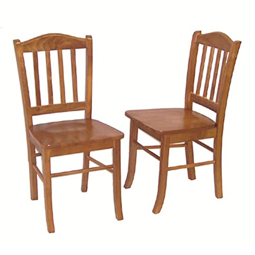 Traditional Oak Dining Room Chairs: Amazon.com