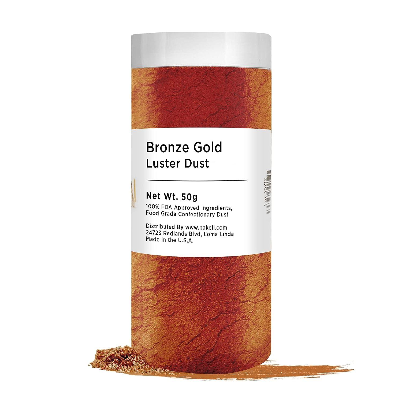 BAKELL half Edible Luster Dust Powder Paint In stock DUST LUSTER