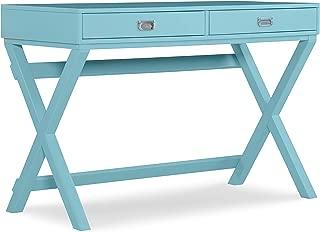 Linon Home Décor Jaycee Blue Writing Desk