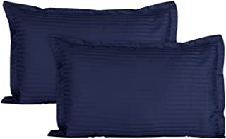 JY Sleeping Fiber Pillow Set of 2 Peice Size 27 x 16 inches (Navy Blue)