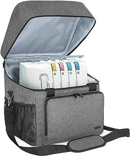 Luxja Overlock Tasche für Overlock Maschinen, Overlocktasche für Aufbewahrung..