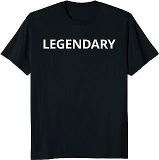 Best legendary t shirt Reviews