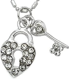 Key & Lock Anklet Heart Ankle Bracelet Charm for Women