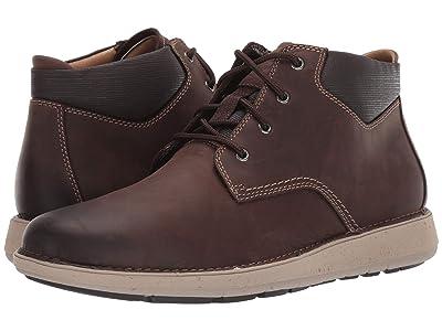 Clarks Un Larvik Top (Brown Oily Leather) Men