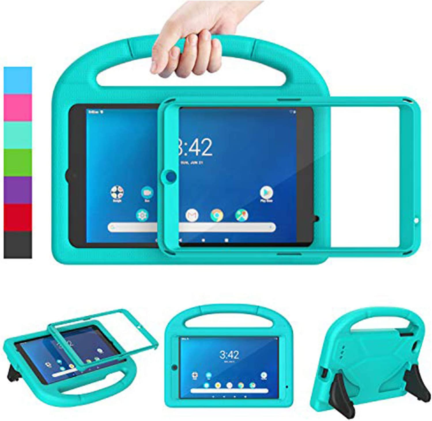 """Ranking TOP14 LEDNICEKER Kids Case for Walmart Pr Onn 8"""" Cheap mail order sales Screen with"""