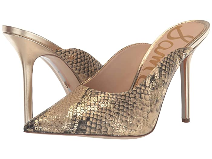 Sam Edelman  Addilyn (Natural Sand Bahamas Snake Print Leather) Womens Shoes