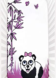 Baby Yacubi Panda Crib Sheet