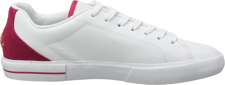 Ellesse Taggia, Baskets Femme Blanc White Pink Wht Pnk