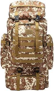 Military 80L Large Backpacks,LuluZanm Sales! Hiking Travel Camo Army Backpacks Waterproof Durable Mountaineering Bag