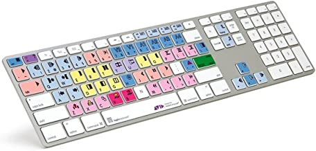 LogicKeyboard designed for Avid Media Composer and compatible with macOS- Part: LKBU-MCOM4-AM89-US