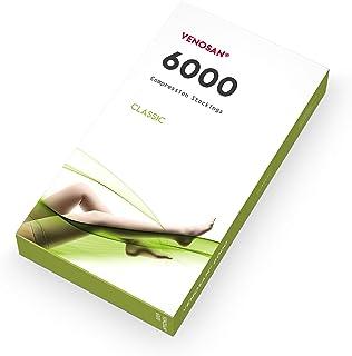 VENOSAN ベノサン 6000 医療用弾性ストッキング(クラス2、ハイソックス) (黒, M つま先なし)