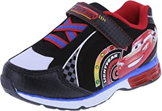 Cars Boys' Black Boys' Cars Lighted Runner 5 Regular