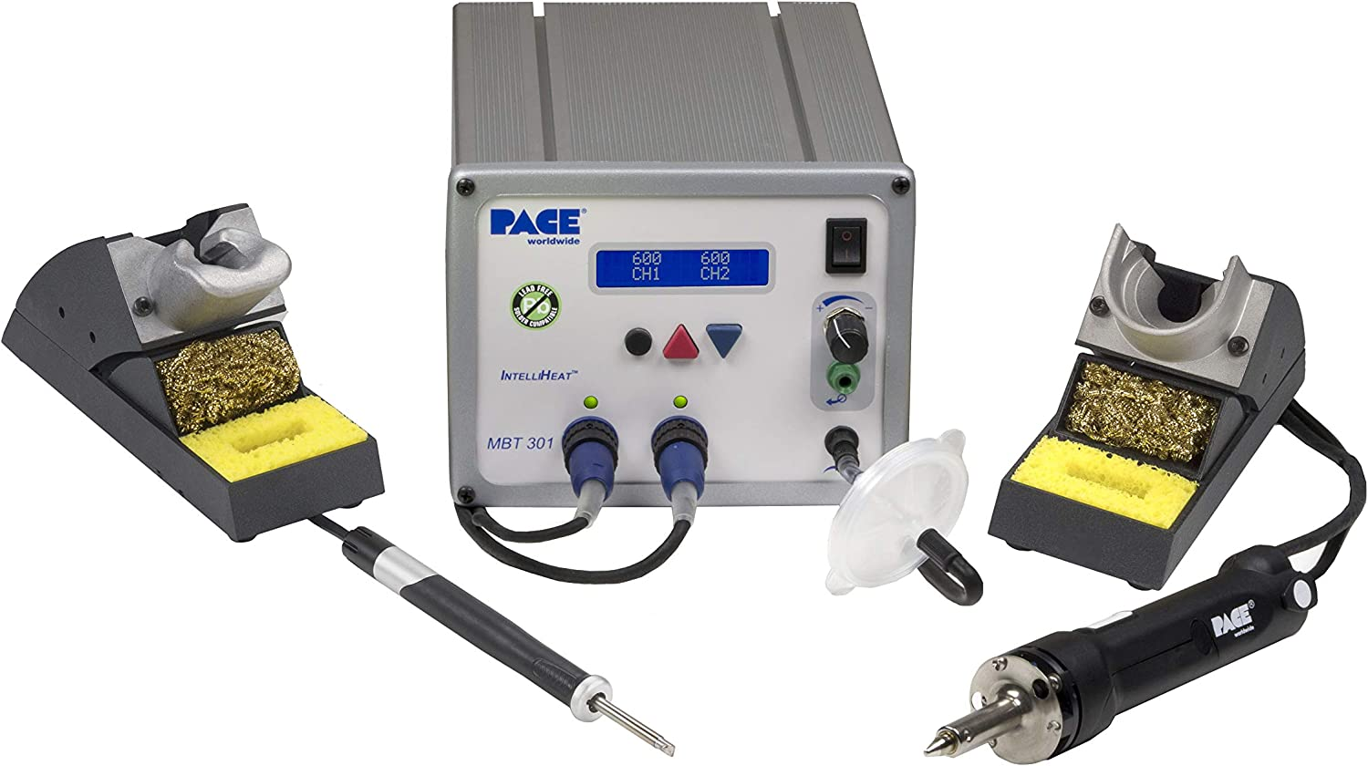 Pace MBT 301 チープ Soldering Desoldering Iron 春の新作続々 with - Station TD-100