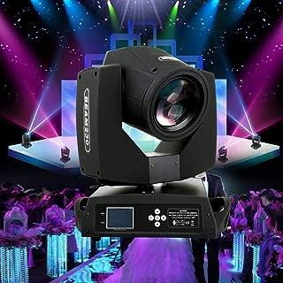 TryE 230W 7R Moving Head Light 16CH Stage Beam Light 17 Gobo DMX Zoom Lighting for DJ Disco Club Party