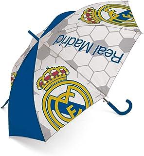 comprar comparacion ARDITEX RM12973 Paraguas de poliéster del Real Madrid CF, 8 Paneles, diámetro 95cm, Apertura automática