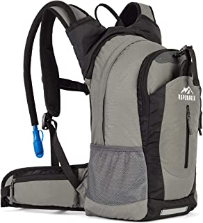 RUPUMPACK Insulated Hydration Backpack Pack with 2.5L BPA Free Bladder, Lightweight Daypack Water Backpack for Hiking Runn...