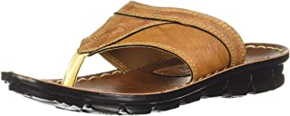 Paragon Men's Mustard Slippers-8 UK/India (42 EU) (A1PU6790GMSD00008G299)
