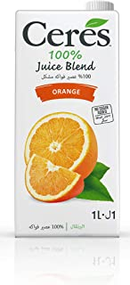 Ceres Orange 100 Percent Fruit Juice, 1 Litre
