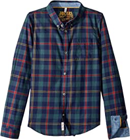 Plaid Checked Shirt (Toddler/Little Kids/Big Kids)